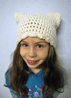 The Kitty Cap by Bella Crochet. Image (c) Bella Crochet.