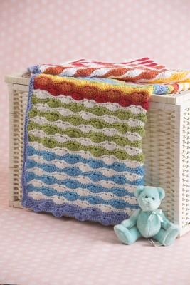 Scrappy Shells Blanket, crochet pattern by Marie Segares/Underground Crafter
