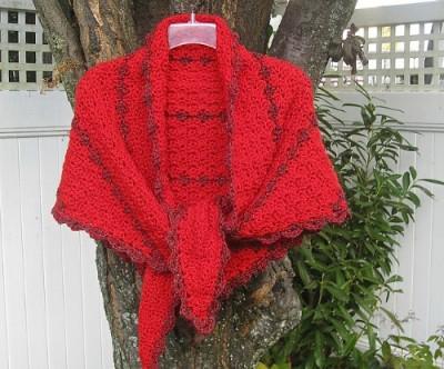 Cape Cod Shawl crochet pattern by Maria Bittner