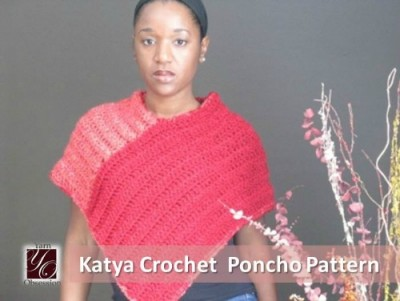 Katya Poncho, free crochet pattern by Sedruola Maruska