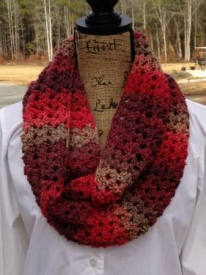 Sunset Scarf, free crochet pattern by Kathy Lashley