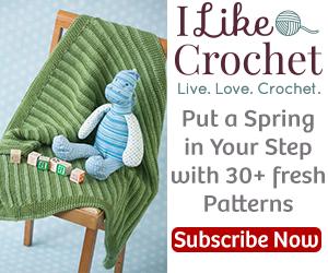 I Like Crochet April 2015 banner