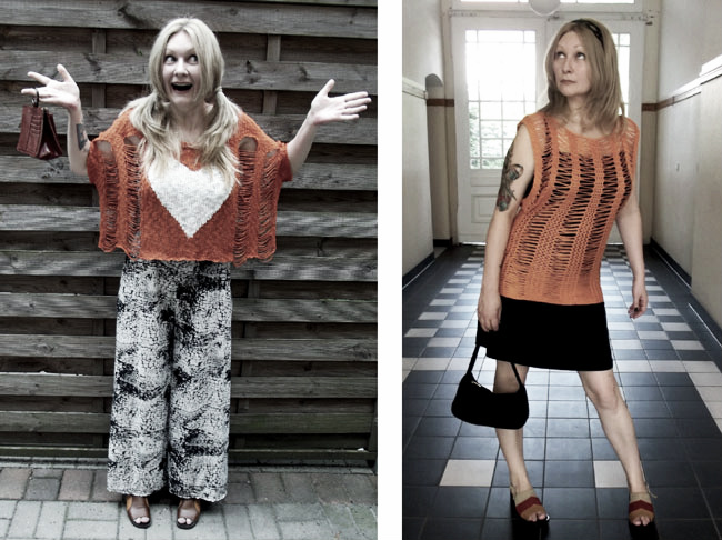 Crochet Styling, the Refashionista Way: Guest post by Confessions of a Refashionista on Underground Crafter