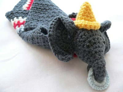 Edward: Circus Elephant Lovie, a free crochet pattern by Dedri Uys.