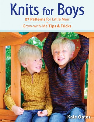 Knits for Boys review and giveaway on Underground Crafter