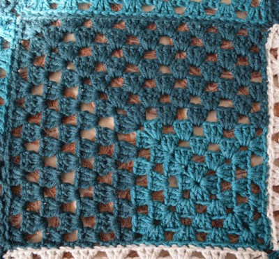 Mod 9-Patch Blanket, free crochet pattern by Marie Segares/Underground Crafter