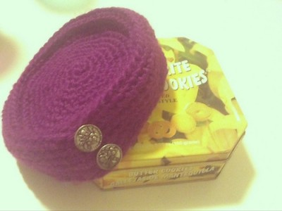 Pretty Pillbox Vintage Hat, free crochet pattern by Manda Robertson.