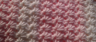 Easy Star Stitch Baby Blanket, free crochet pattern by AG Handmades.
