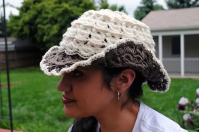 Boho Broomstick Lace Hat