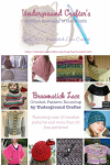 Broomstick Lace crochet pattern roundup on Underground Crafter - over 30 patterns, including 20+ free patterns!