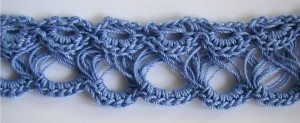 From Crochet Spot's broomstick lace tutorials. Photo (c) Crochet Spot. Used with permission.