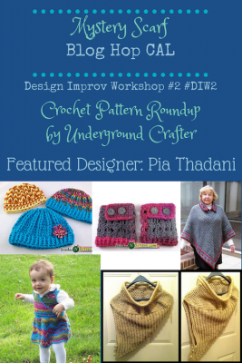 Roundup of Pia Thadani's crochet patterns on Underground Crafter
