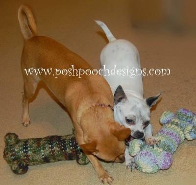 Dog Woobie, free crochet pattern by Posh Pooch Designs.