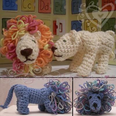 Leonard & Lucy, free crochet pattern by Deborah Ziegler.