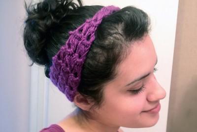 Pin-Up Mamas Hair Wrap Crochet Kitten