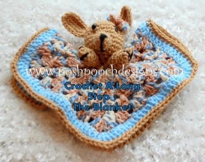 Puppy Lovie, free crochet pattern by Sara Sach.