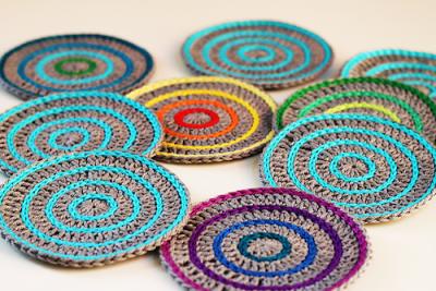 Roller Coasters, free crochet pattern by Haak Maar Raak.