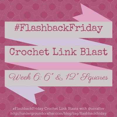 Roundup of 6 inch and 12 inch granny square crochet patterns on Underground Crafter