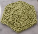 Circle Hexagon, free #crochet pattern by @ucrafter in @galleryarns Inca Eco