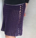 Flirty Marvel Skirt, free crochet pattern in 4 adult sizes by Marie Segares/Underground Crafter
