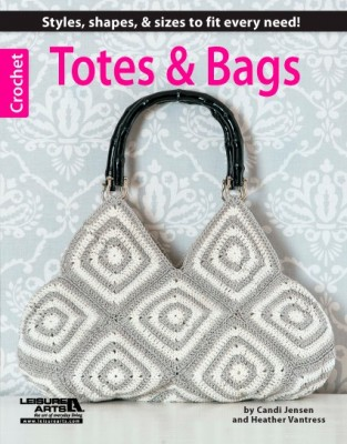 Buy Totes & Bags on Leisure Arts or Amazon!