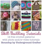 #FlashbackFriday #Crochet #LinkBlast: roundup of 12 free crochet patterns with photo and/or video tutorials for special skills, stitches, and techniques on @ucrafter