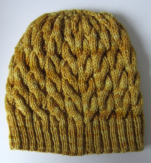Knitting Pattern: Juxtapose: A Cabled Beanie | Underground