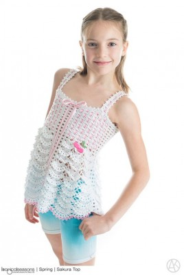 Interview with #crochet & #knitting designer Alla Koval about her crochet pattern books of children's couture, Imagical Seaons, on @ucrafter. Giveaway for Imagical Seasons Volume 1 & 2; enter by 11:59 p.m. Eastern on August 27, 2015 for your chance to win!