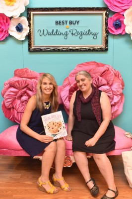 Sally McKenney and Marie Segares at #BlogHer15. Sally's #Baking Addiction by @sallysbakeblog, book review by @ucrafter