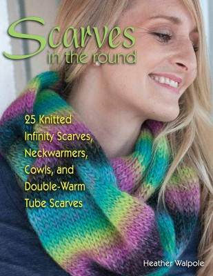 Interview with #knitting designer Heather Walpole and #giveaway for Scarves in the Round on @ucrafter. Enter through August 17, 2015 for your chance to win a copy of the book.