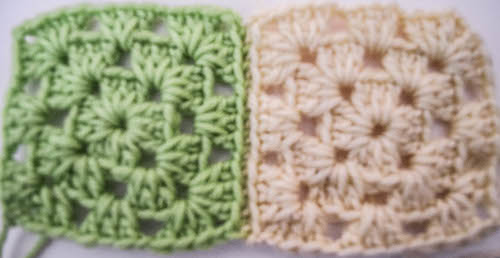 How To Join Granny Squares Using the Whipstitch | #Crochet