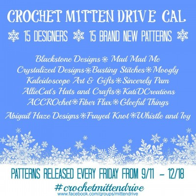 Crochet Mitten Drive 2015. For more details, visit https://www.facebook.com/groups/mittendrive/