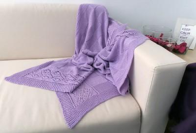 Cuadricula, knitting pattern by Miren Torrealday (Ardilanak).
