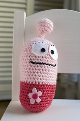 Skyler Gray, free crochet pattern in English and Spanish by El Gallo Bermejo.
