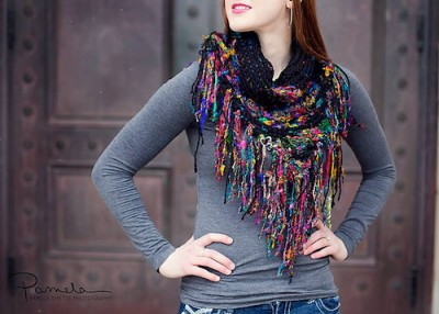 Urban Scarf, crochet pattern by Alessandra Hayden.