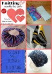 Knitting Love monthly link party 2 with Jessie at Home and Underground Crafter