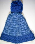 On the Slopes Hat, free #knitting pattern by Marie Segares/Underground Crafter