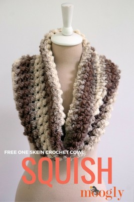 Squish, free crochet pattern by Moogly.