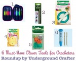 6 Must-Have Clover Tools for Crocheters, #roundup by Underground Crafter #crochet