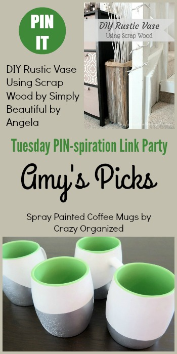 Tuesday PIN-spiration Link Party 82 Amy's picks