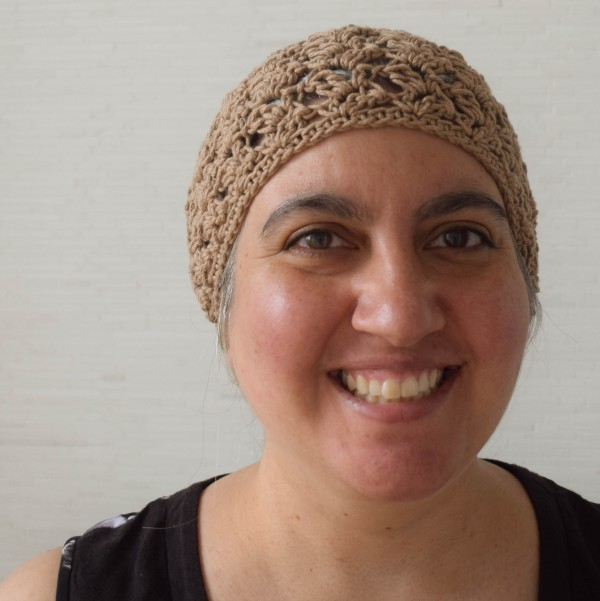 Airy Avalon Slouchy Hat, free #crochet pattern in Cascade Yarns Avalon by Marie Segares/Underground Crafter