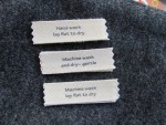 Cotton Sew In Care Labels Variety Pack by Mountain Street Arts