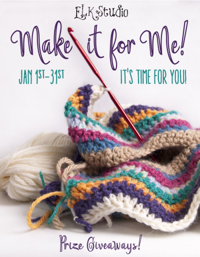 Make it for Me! #crochet along with ELK Studio January 1-31 2016