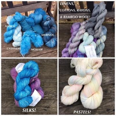 Beautiful, hand dyed yarn by Fiber Dyet on Etsy #HolidayStashdownCAL2015