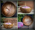 Hand turned yarn bowls from HenPeckedHooks on Etsy via Underground Crafter