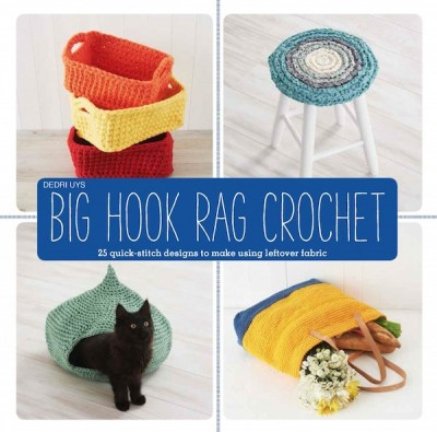 Big Hook Rag Crochet #giveaway on Underground Crafter. Enter through February 1, 2016 for your chance to win a copy courtesy of Lark Crafts. Open to US only.