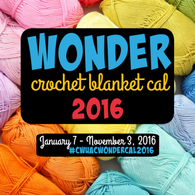 Wonder Blanket crochet-a-long 2016 with Crochet with Us and American Crochet