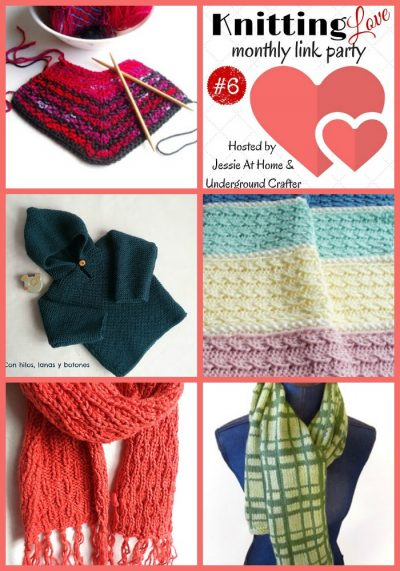 Knitting Love Link Party 6 with Jessie At Home and Underground Crafter