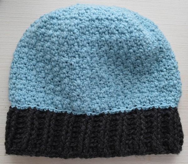 Pebble Stitch Hat, free #crochet pattern by Underground Crafter in Cloudborn Superwash Merino Worsted Twist #yarn