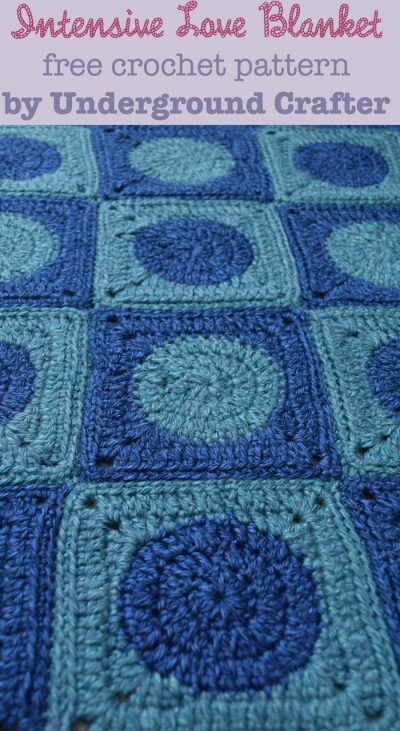 Intensive Love Blanket, free #crochet pattern by Underground Crafter   This preemie-sized blanket is perfect for donation to Knots of Love, or any other charity providing incubator blankets to neonatal intensive care units (NICUs).